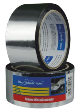 BLUE DOLPHIN Taśma metalizowana 48 mm x 50 m