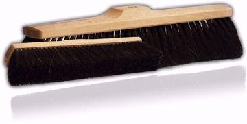 Obrazek Miotła 30 cm naturalne włosie
