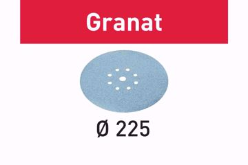 FESTOOL Krążki ścierne STF D225/8 P320 GR/25 499643
