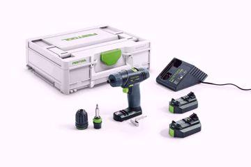 Akumulatorowa wiertarko-wkrętarka TXS FESTOOL 576101
