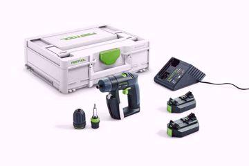 Wiertarko-wkrętarka akumulatorowa Festool CXS 2,6-Plus