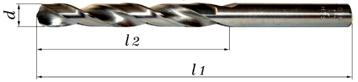 Obrazek Wiertło szlifowane NWKa  0,8 mm HSS BAILDON