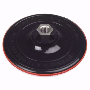 Obrazek Dysk gumowy z rzepem 125 mm do szlifowania TOPEX 61H730